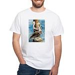 Brown Pelicans White T-Shirt