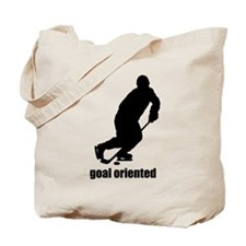 Goal Oriented Hockey Tote Bag
