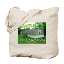 Single With a Single Wide Tote Bag