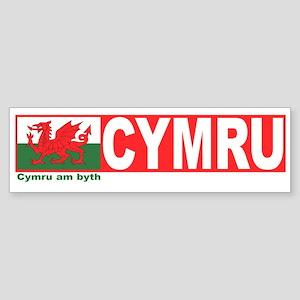 Cymru Bumper Sticker