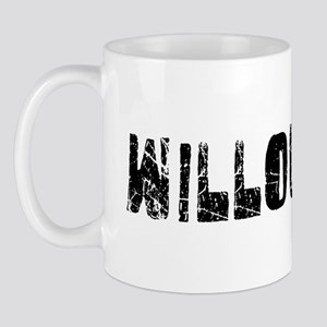 Willoughby Faded (Black) Mug