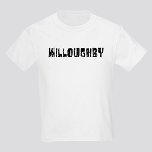 Willoughby Faded (Black) Kids Light T-Shirt