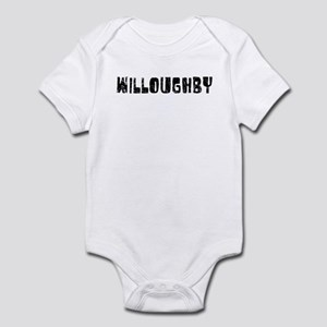 Willoughby Faded (Black) Infant Bodysuit