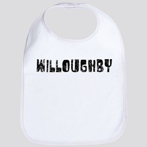 Willoughby Faded (Black) Bib