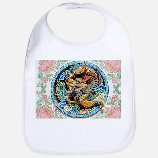 cool,oriental,chinese,japanese,dragon,pai Baby Bib