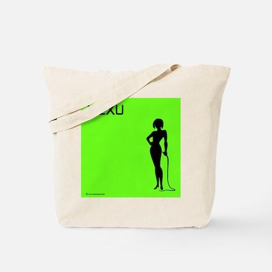 """i SEX U, Tote Bag """"green"""""""