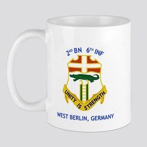 2nd BN 6th INF Gear Mug