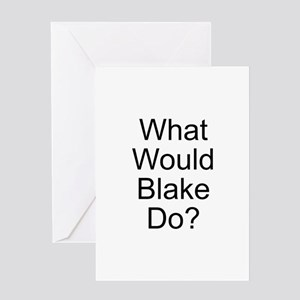 Blake Greeting Card