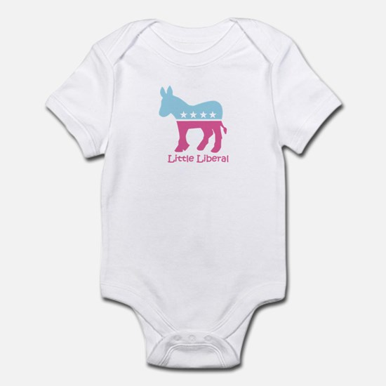 Little Liberal - Girly Infant Bodysuit