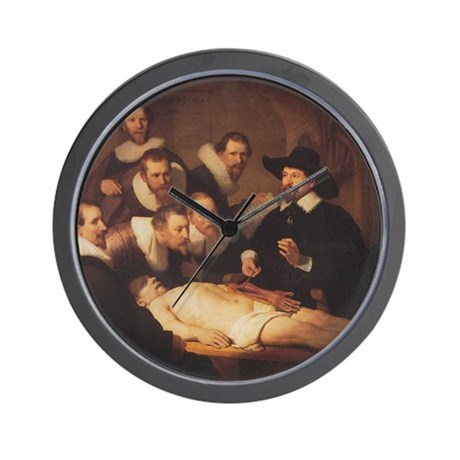 Anatomy Lecture Wall Clock