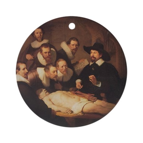 Anatomy Lecture Ornament (Round)