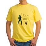4th BN 6th INF Yellow T-Shirt