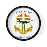 4th BN 6th INF Wall Clock