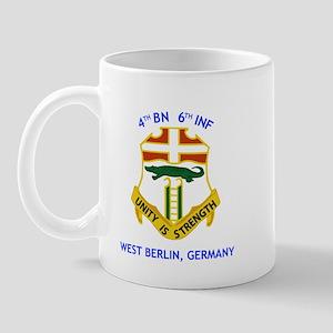 4th BN 6th INF Mug
