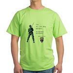 4th BN 6th INF Green T-Shirt