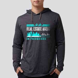 The Best Real Estate Agent In Long Sleeve T-Shirt
