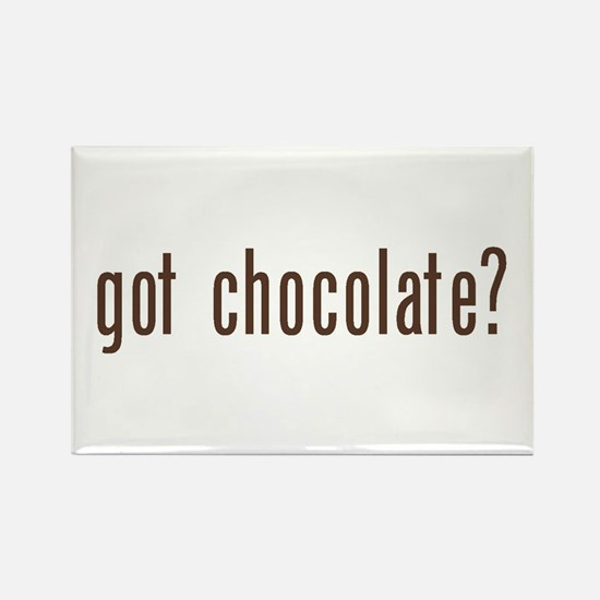 got chocholate? Rectangle Magnet (100 pack)