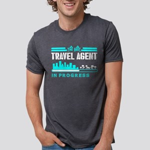 The Best Travel Agent In Progress T-Shirt