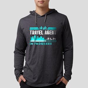 The Best Travel Agent In Progr Long Sleeve T-Shirt