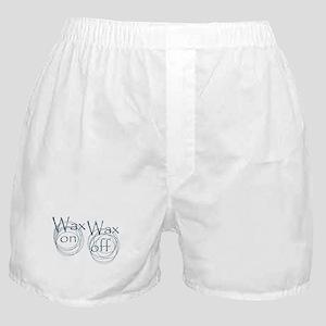 Wax On, Wax Off Boxer Shorts