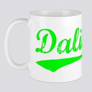 Vintage Dalian (Green) Mug