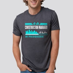 The Best Construction Manager In Progress T-Shirt