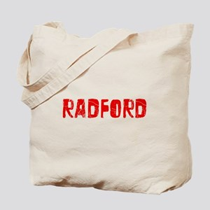 Radford Faded (Red) Tote Bag