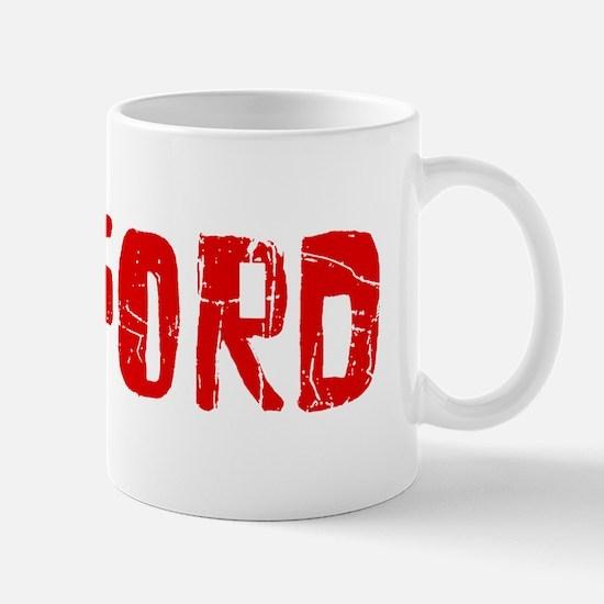 Radford Faded (Red) Mug