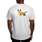 "Grey ""Whatta You Lookin' At?"" Weird Dog T-Shirt"