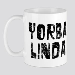Yorba Linda Faded (Black) Mug