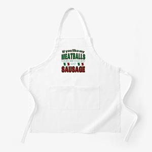 Italian Food BBQ Apron