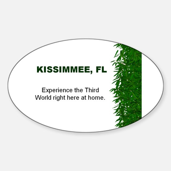 Kissimmee Oval Decal