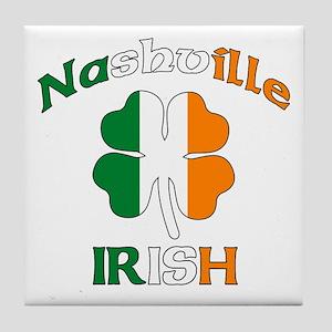 Nashville Irish Tile Coaster