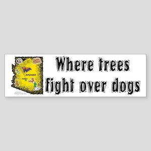 AZ-Trees Fight! Bumper Sticker