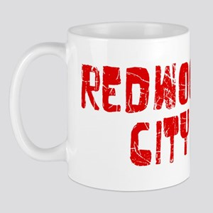 Redwood City Faded (Red) Mug