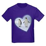 Emperor Penguin Kids Dark T-Shirt