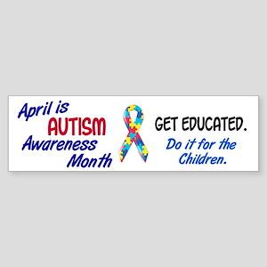 Autism Awareness Month 1 Bumper Sticker