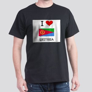 I Love Eritrea Dark T-Shirt