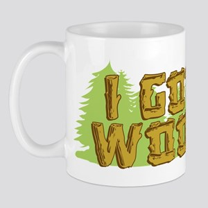 FB I Got Wood Mug