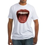 Big Mouth Fitted T-Shirt