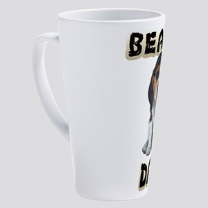 Beagle Dad 17 oz Latte Mug