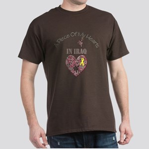 A Piece of My Hearts In Iraq Dark T-Shirt