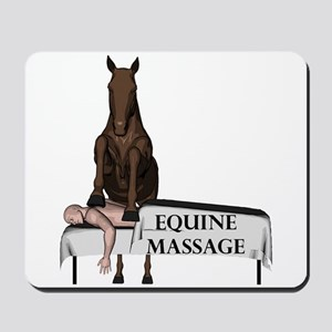 Equine Massage Mousepad