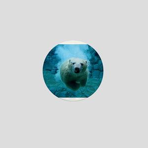 Polar Bear Mini Button