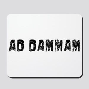 Ad-Dammam Faded (Black) Mousepad