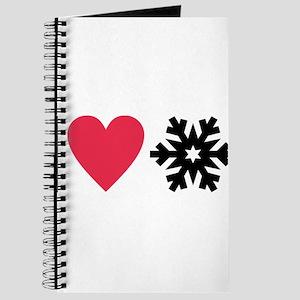 I love snow Journal