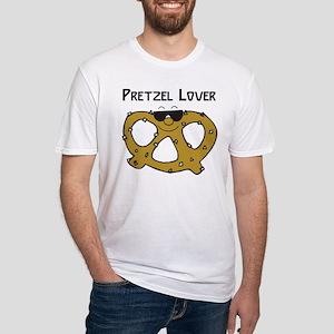 Pretzel Lover Fitted T-Shirt
