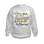 For Labrador Achievers Kids Sweatshirt