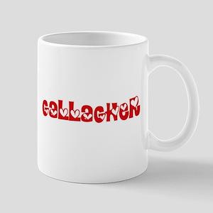 Gallagher Surname Heart Design Mugs