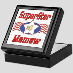 Superstar Memaw Keepsake Box
